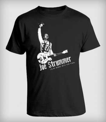 Camiseta Joe Strummer, The...